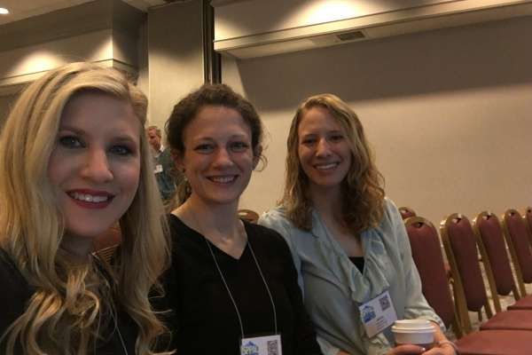 Dr. Fedele's graduate students attend a conference symposium